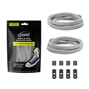 XPAND | STEEL FLAT LACES - MAKE ANY SHOES SLIP-ON!