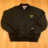 Dallas Stars Vintage 90's Swingster 1/4 Zip Pullover EUC Rare Mens XL NHL Hockey