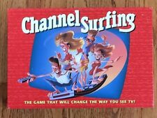 Channel Surfing Family Board Game (1994, Milton Bradley)