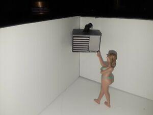 1:24 1:25 Garage Heater For Work Shop Diorama Accessories
