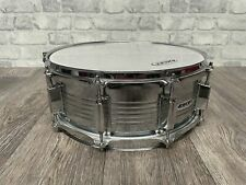 """More details for snare drum 14""""x5.5"""" steel shell 10 lug / drum hardware #sn404"""