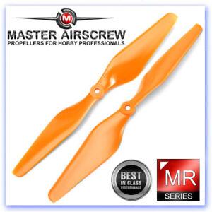 Master Airscrew 10 x 4.5 MR Propeller Set 2x Orange MASMR10X45SO2