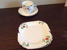 Heathcote China Cup, Saucer & Plate Set