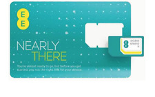 20 X EE Pay as you go Trio Sim cards, Retail Packing Ready to Resell,
