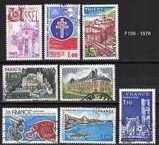 TIMBRES FRANCE 1976 obl. France 1871-1872-1873-1885-1902-1903-1904-1905 fa109