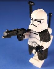 LEGO® STAR WARS™ 75028 Minifigure Phase II CLONE TROOPER™ Deluxe +Helmet Antenna