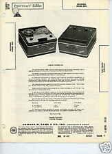 Recordio 802 Tape Recorders-Sams PhotoFact Docs