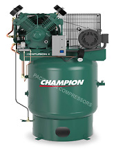 7.5 HP TWO STAGE CAST IRON V-4 CYLINDER AIR COMPRESSOR 25 CFM, 575 RPM