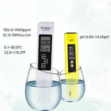 Kit 2in1 misuratore professionale tester PPM acidità purezza acqua pH EC TDS
