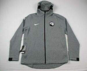 Minnesota Timberwolves Nike Jacket Men's Gray Poly NEW Multiple Sizes