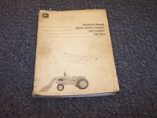 John Deere 301 401 Tractor Loader Shop Service Repair Technical Manual Tm1034