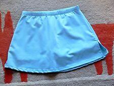 Marika Light Blue Stretch Knit Skort M