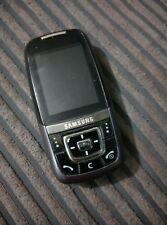 Samsung SGH D600 - Black (Unlocked) Mobile Phone