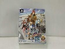 PS Vita Legend of Heroes Zero no Kiseki Evolution Limited Ver. nendoroid puchi