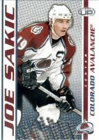 2003-04 Pacific Heads Up Hockey Card #26 Joe Sakic - Colorado Avalanche
