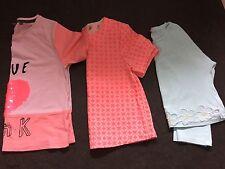 Filles Âge 8 - 10 ans rose été prochain Tops T Shirt Bundle Love