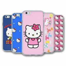 For iPhone 6 6S Silicone Case Cover Hello Kitty Collection 1