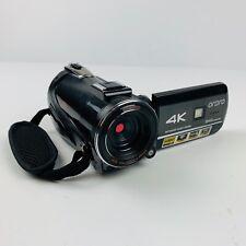 ORDRO 4K Ultra HD Digital Camcorder Video Camera Wifi 1080p Night Vision