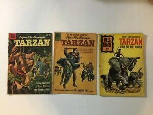 Tarzan Silver Age Lot Dell