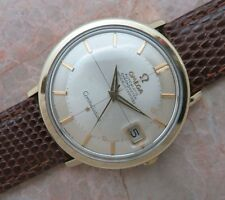 1966 Mens OMEGA CONSTELLATION Solid Gold Capped/Steel CD 168.004 cal.561