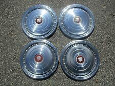 Genuine 1978 Cadillac Coupe Deville Fleetwood hubcaps wheel covers set