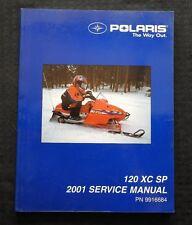 2001 POLARIS 120 XC SP SNOWMOBILE SERVICE REPAIR MANUAL VERY GOOD SHAPE