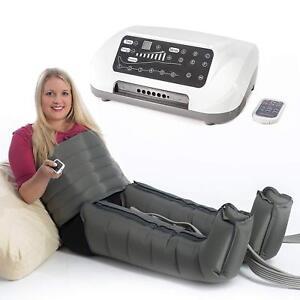 VEIN ANGEL 6 PREMIUM air compression massager legs & waist :: no pressotherapy