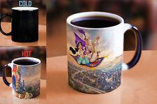 Thomas Kinkade Aladdin Jasmine Morphing Coffee Tea Mug MMUG063 Disney