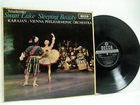 KARAJAN tchaikovsky swan lake & sleeping beauty suites LP EX+/EX-, SXL 6187 WBG