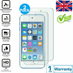 2pcs For iPod Touch 5th 6th 7th Generation Tempered Glass Screen Protector Cover