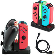 Charging Dock Fast Charger Stand For NS Nintendo Switch Joy-Con Pro Controller