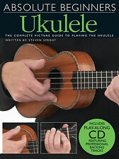 Learn How To Play UKULELE Easy Beginners Tutor Tuition Sheet Music Book & CD