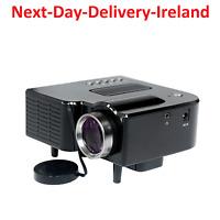 Mini Multimedia Projector Cinema Home Theater LED USB TV HDMI MT