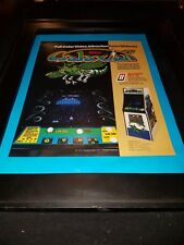 Galaxian Midway Rare Original Promo Poster Ad Framed!