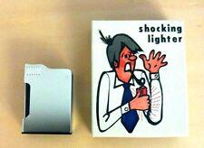 SHOCK LIGHTER PRANK SHOCK GAG JOKE TRICK SILVER VINTAGE MADE IN JAPAN