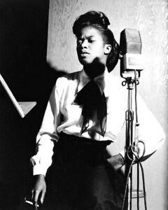 Jazz Singer SARAH VAUGHAN Glossy 8x10 Photo Vocal Music Print Poster