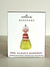 "2020 Limited Ed.""Mrs. Claus's Gumdrop"" Hallmark MINIATURE ornament"