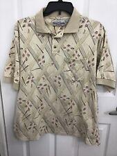Michael Austin Golf Polo Shirt Club Tee Greens Men Size XL