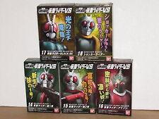 Bandai Kamen Rider VS Shodo Wave 4 Set of 5: 1,2,Amazon,Black RX,Shocker masked