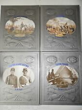 "History of the Civil War- Time Life books (4) 1980s- ""Gettysburg""..."