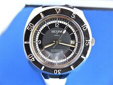 VINTAGE DIVERS SICURA BREITLING MENS SWISS MADE MEN'S WATCH 42MM  FROM THE 70'S
