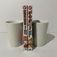 Yu-Gi-Oh! Duelist Volume 2 & Rurouni Kenshin Volume 1 Manga Lot