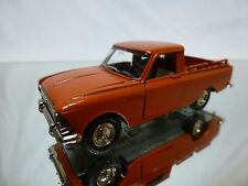 MADE IN CCCP USSR - MOSKVITCH PICKUP BROWN 1:43 - GOOD CONDITION