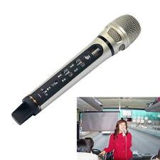 1PCS Handheld Wireless Car Karaoke Microphone Bluetooth FM Voice Transmitter Mic