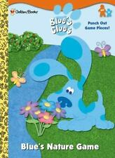Press-out Activity Book: Blue's Clues Nature Game by Golden Books Staff...