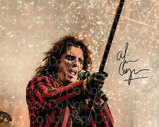 Alice Cooper signed Metal Rock 18 Poison 8X10 photo picture poster autograph RP