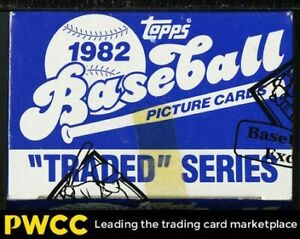 1982 Topps Traded Sealed Set, Tape intact Cal Ripken Jr. ROOKIE RC, BBCE Auth