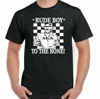 2 TONE T-SHIRT SKA Rude to the Bone Mens The Specials Two Tone 2Tone Adults Top