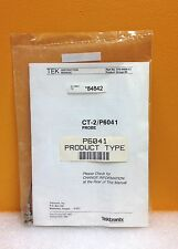 Tektronix P6041 Curent Probe Cable, New in Original Package + Manual