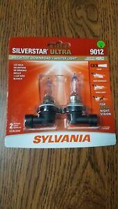 Sylvania Silverstar ULTRA 9012 Pair High Performance Headlight 2Bulbs BRAND NEW!